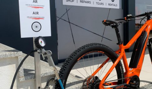air service for tires at the doorstep of Bikesul