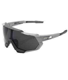 Óculos 100% Speedtrap Cinza Lentes Smoke