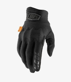 Gloves 100% Cognito D30 Black / Charcoal w / Fingers