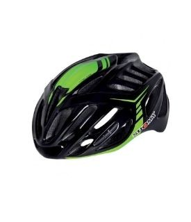 Suomy Timeless Black/Green Helmet