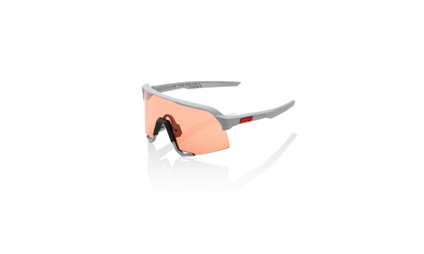 Glasses -100% Speedcraft Gray Hiper Coral Lenses