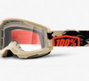 Goggles 100% Strata 2 Kombat Lentes Gold