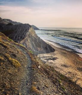 Cliffs in the Vicentine Coast