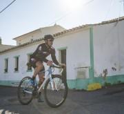 Ciclista de Estrada no Algarve