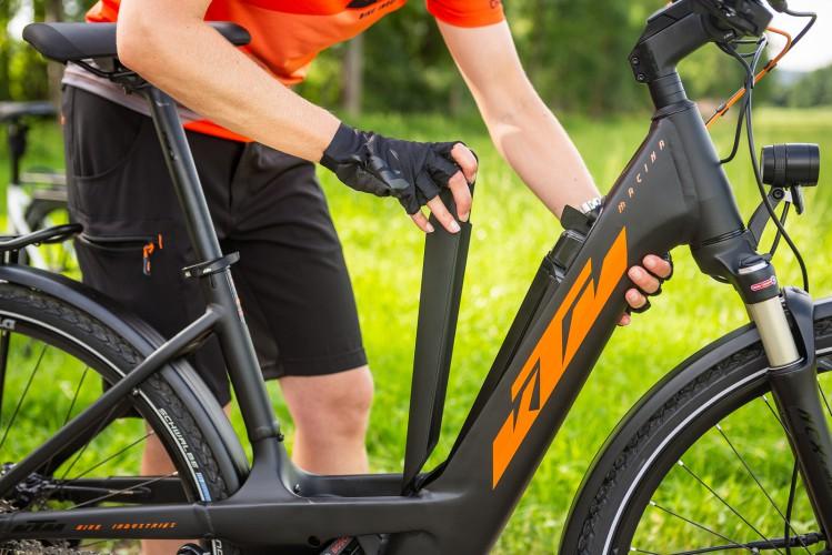 bicicleta elétrica KTM Macina