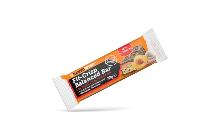 NAMEDSPORT FIT CRISP BALANCED BAR yogurt peach 38g