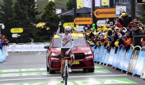 O'Connor venceu no alto de Tignes na Volta a França