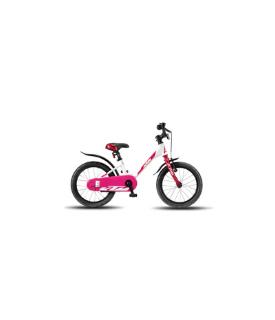 Ktm 1.16 Girl Bike - White and Pink