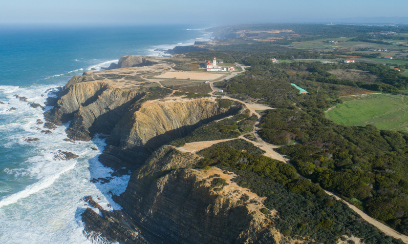 Cabo Sardão lighthouse in the Vicentine Coast