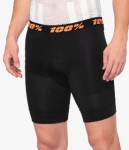100% Crux black shorts