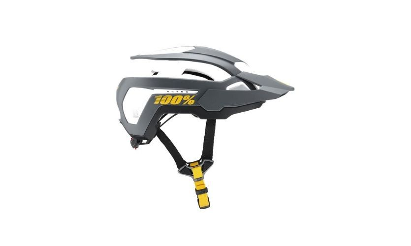 100% Altec Charcoal Helmet