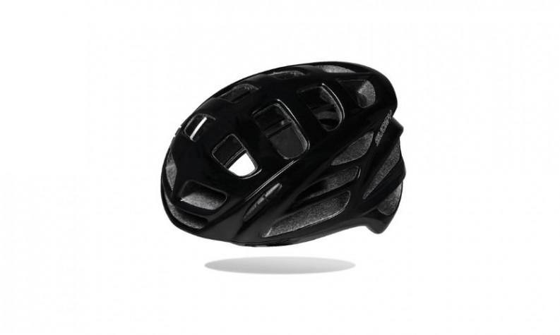 Suomy First Gun Black Glossy Helmet