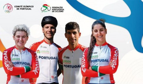 The cyclists who will represent Portugal in the Olympic Games