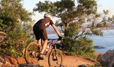 MTB cyclist