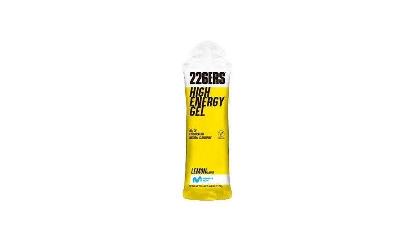 Gel energético 226ERS High Energy lemon flavor 76g