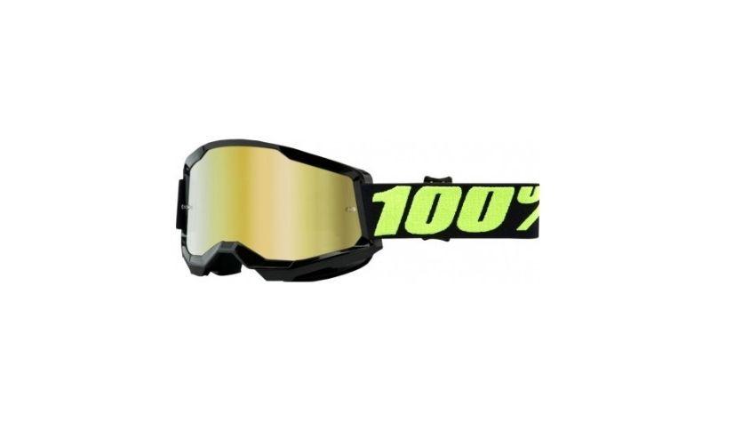 Goggles 100% Strata 2 Upsol Lentes Gold