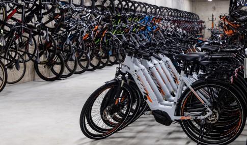 bicicletas para alugar na loja Bikesul