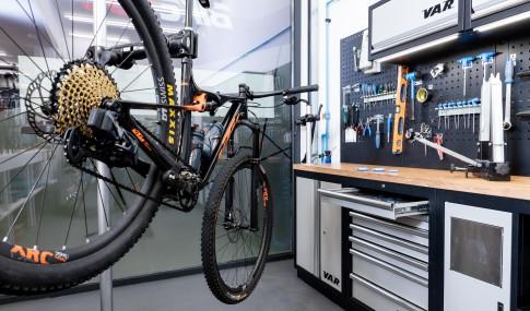 bicicleta na oficina Bikesul