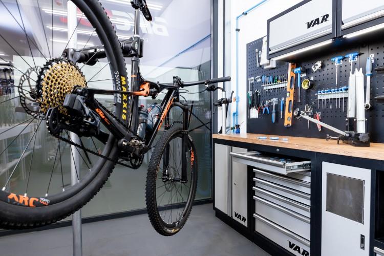 bike in Bikesul workshop