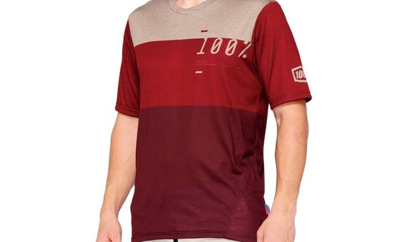 100% Airmatic M / Curt Brick / Red Jersey
