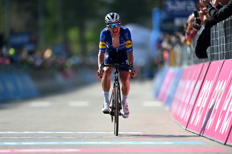 João Almeida in the Tour of Italy