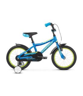 Kross Racer 4.0 Blue-Lime 16''(10