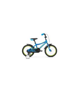 Bic.Kross Racer 4.0 Blue-Lime 16''(10