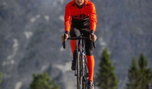 ktm cyclist riding a bike