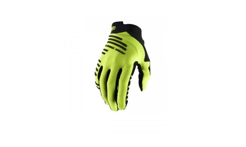 100% Ridecamp Yellow Gloves w / Fingers