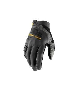 100% R-Core Charcoal Gloves w / Fingers