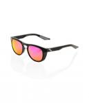 100% Slent Purple Lentes Black Glasses
