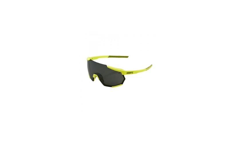 Óculos 100% Racetrap Amarelo Lentes Preto