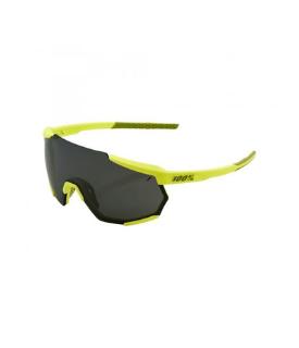 100% Racetrap Yellow Glasses with Black Lenses