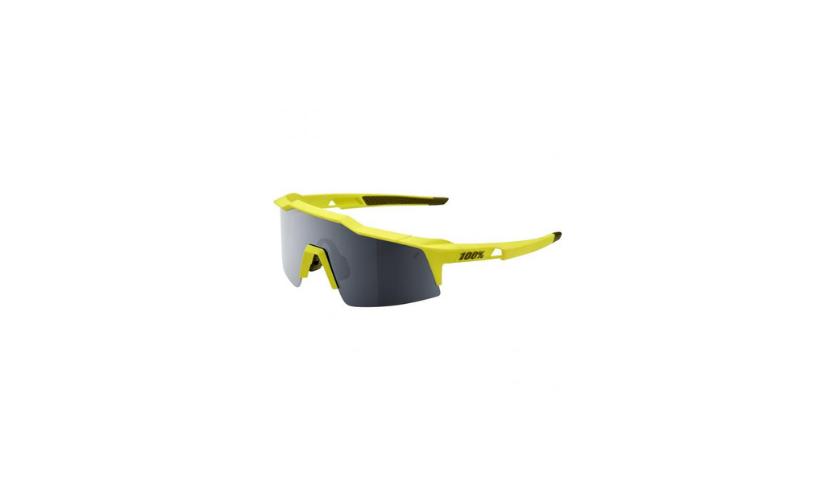 100% Speedcraft Yellow Glasses with Black Lenses