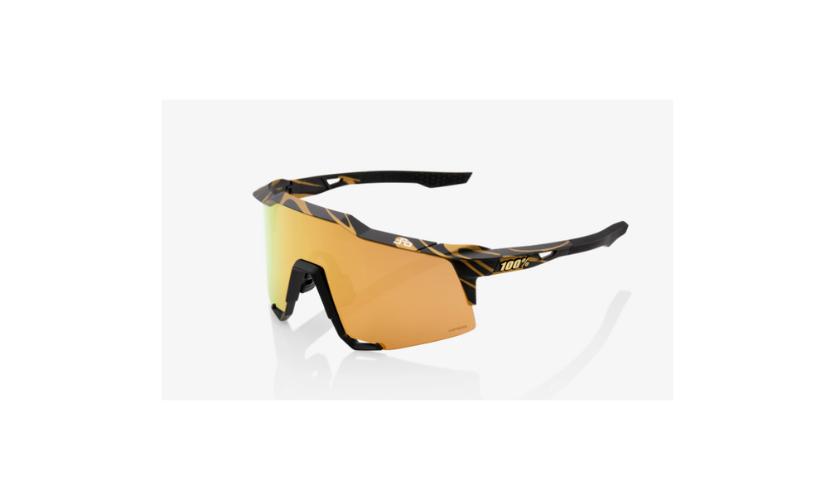 Óculos 100% Speedcraft Peter Sagan Lentes Gold
