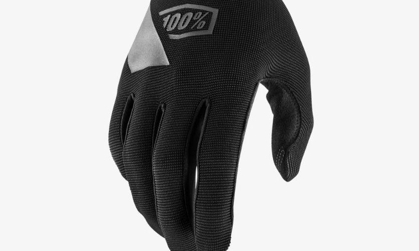 100% Ridecamp Black Gloves