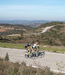 Ciclismo na Serra do Caldeirão, no Algarve