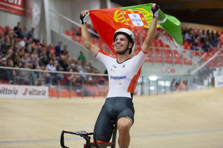 Rui Oliveira a vencer o campeonato europeu