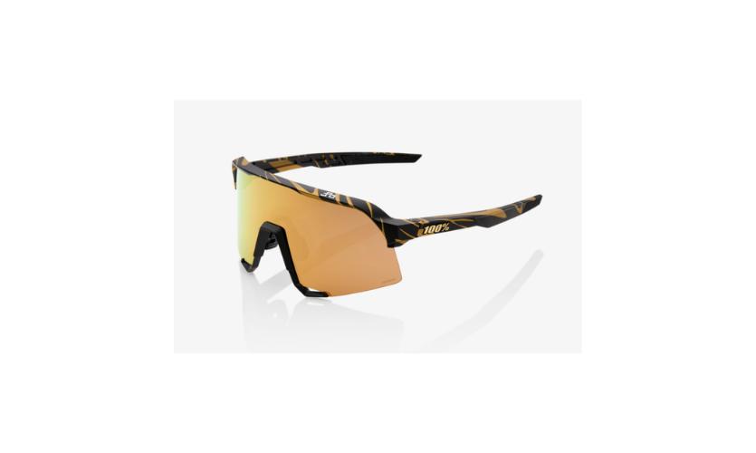 Óculos 100% S3 Peter Sagan Lentes Hiper Gold