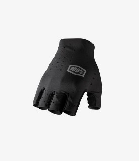 100% Black Sling Gloves Without Fingers