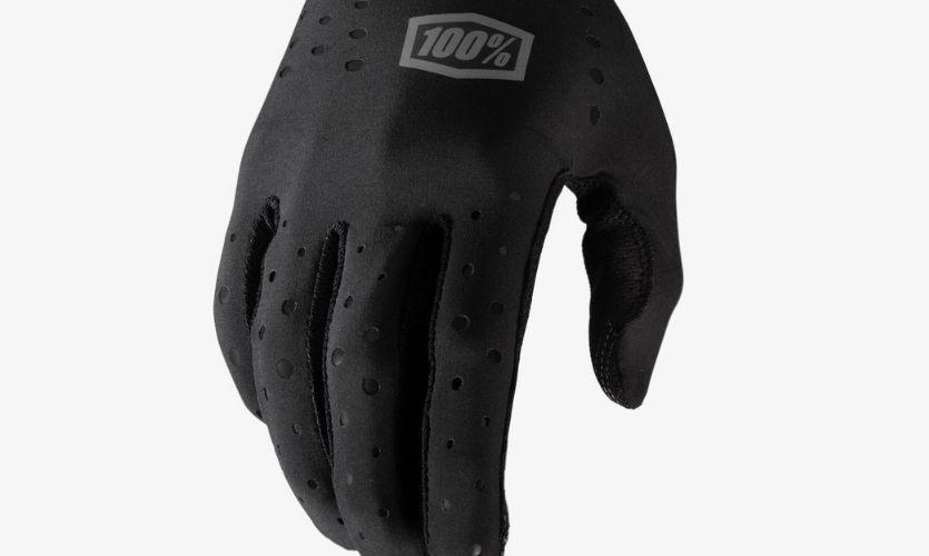 100% Black Sling Gloves w / Fingers