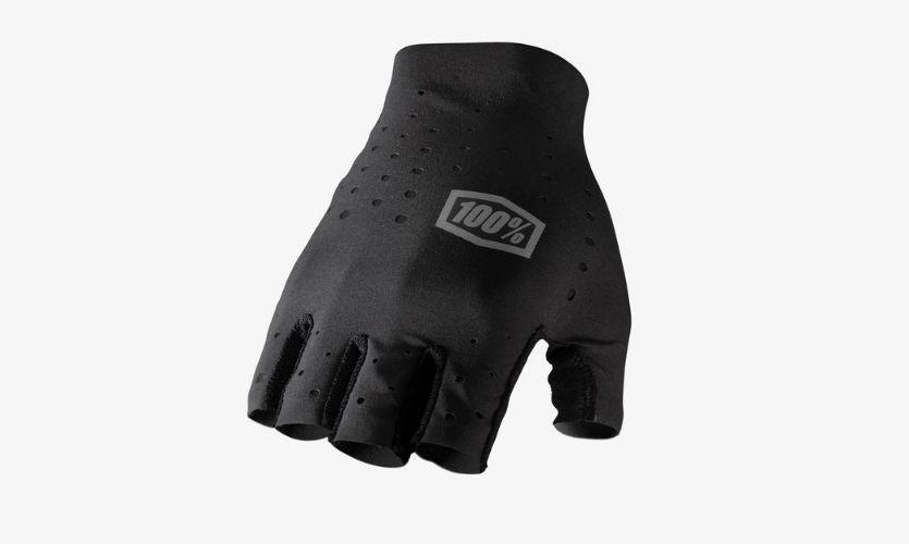 100% Black Sling Gloves Without Fingers