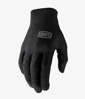 100% Black Sling Gloves w / Fingers