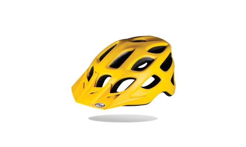 Suomy Free Yellow Helmet