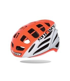 Capacete Suomy Gun Wind Hv White/Orange