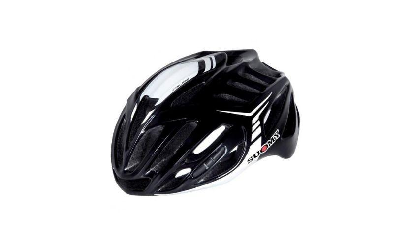 Suomy Timeless Black/White Helmet