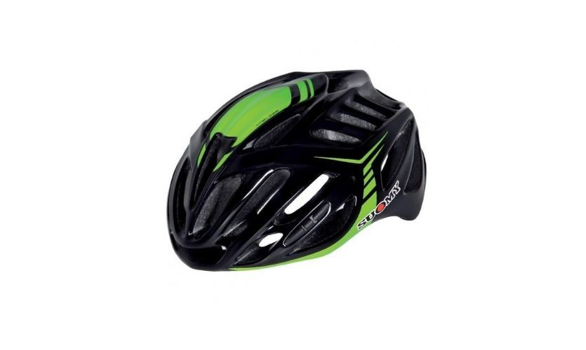 Suomy Timeless Black/Green Helmet