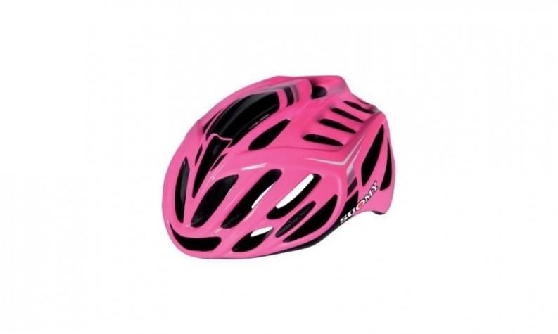 Suomy Timeless Fuxia/3 Anthrac Helmet