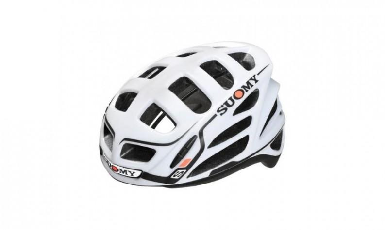 Suomy Tmls All-In Star White/Orange Helmet