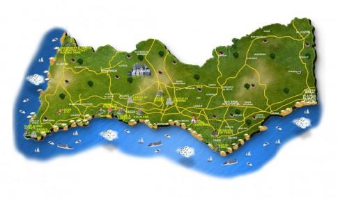 algarve-map